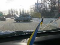 На Набережной в лобовой аварии пострадали два человека