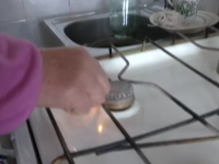 В Запорожье без газа сидят более 2000 жителей (Видео)