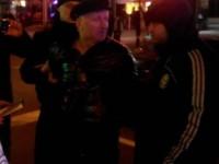 Активисты опубликовали видео с пьяным подполковником, устроившим ДТП в Запорожье