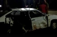 В Запорожской области столкнулись микроавтобус и легковушка – четверо пострадавших