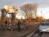 В Запорожской области водитель влетел в дерево (Фото)