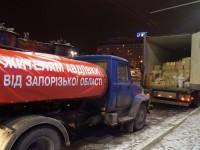 В Авдеевке под обстрел попали запорожцы с гуманитарным грузом