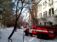 На Хортице пожар в ЦИМЕЖе тушат несколько машин (Фото)
