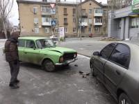 В Запорожской области депутат попал в аварию на скользкой дороге (Фото)