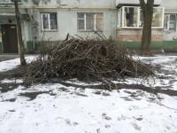 Жителей Шевченковского района коммунальщики завалили мусором (фото)