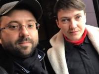 Запорожский депутат похвастался селфи с Савченко