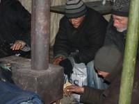 В запорожском пункте обогрева задушили мужчину