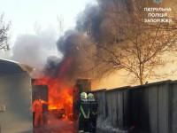 В Запорожье автомастера по ошибке взорвали авто