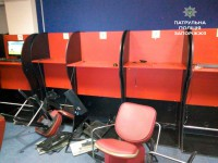 В Запорожье задержали активистов Самообороны за разгром игорного зала (фото, обновлено)