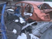 Под Запорожьем накрыли сеть пунктов разборки угнанных авто (Фото)