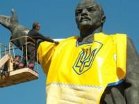 Запорожанка предлагает по 100 гривен за сохранение памятника Ленину