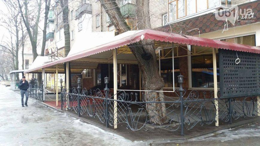 Взапорожском кафе «Эфес» стреляли