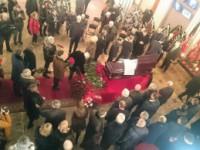 В Запорожье на похороны нардепа приехал спикер Верховной Рады