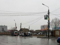 В Запорожской области машина «скорой»  с пациентом попала в ДТП