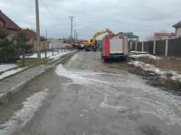 В Запорожье затопило коттеджи в элитном поселке (фото)