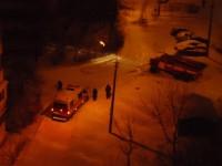 Снегопад привел к пробкам на ДнепроГЭСе и многочисленным авариям