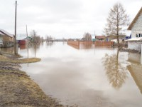 В Запорожской области затопило несколько улиц (видео)