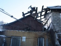 Запорожанка сгорелся в собственном доме (Фото)