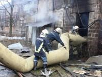 На запорожском предприятии сгорело оборудование (фото)
