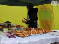В Запорожье начался двухдневный праздник Масленицы с национальных танцев (фото)