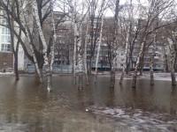 В сети опубликовали фото затопленных скверов в Запорожье