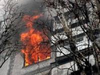 В запорожской многоэтажке произошел пожар – погиб мужчина