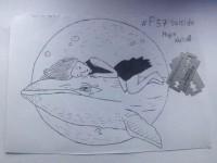 Запорожский школьник порезал себя по заданию группы «Синий кит»