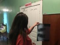В Запорожской области на женщину упал рекламный щит