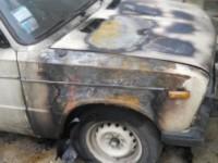 На запорожском курорте сожгли машину