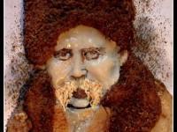 Запорожанка отметила годовщину рождения Шевченко, сделав его портрет из сала