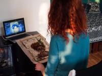 Запорожская художница создала съедобный автопортрет (Фото)