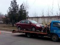 В Запорожье пьяный водитель сбежал с места ДТП