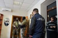 В порту Бердянска проводят обыски