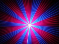 Запорожцев удивило ночное лазерное шоу (видео)