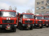 Запорожские спасатели получили новые автомобили (фото)