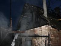 В Днепровском районе горели частные дома (фото)