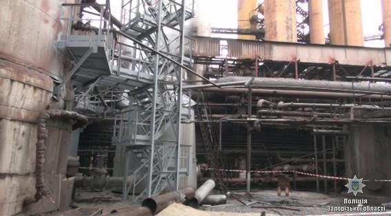 При взрыве назаводе вЗапорожье погибли 4 человека