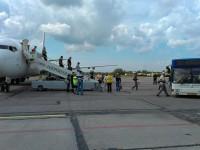 В запорожском аэропорту задержали преступника, прилетевшего со Стамбула