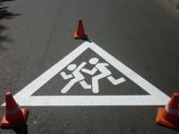 В Запорожской области водитель сбил женщину с ребенком