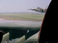 Опубликовано видео полета штурмовиков над Запорожской областью