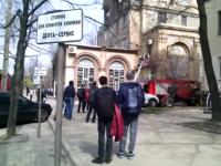 В центре Запорожья в бутике произошло ЧП (Видео)