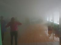 В Запорожской области затопило кабинеты школы