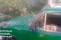 В Запорожье пьяный водитель влетел в забор жилого дома