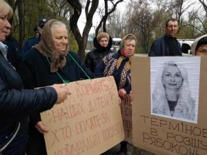 На запорожской трассе жители села перекрыли трассу