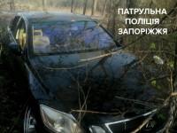 Жителя Запорожья подрезали и угнали «Lexus» прямо на светофоре – подробности