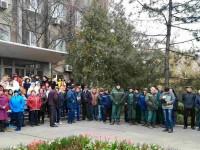В Запорожской области работники порта вышли на митинг из-за слухов
