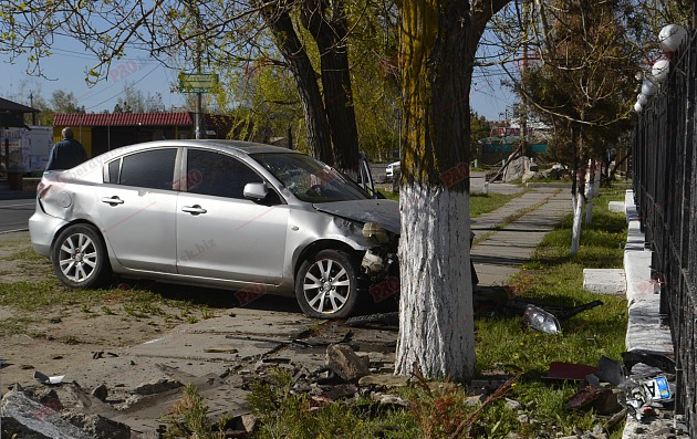 Шофёр вЗапорожской области сбил 2-х пенсионерок