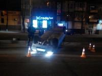 В центре Запорожья перевернулась «Таврия» (Фото)