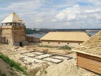 В сети опубликованы уникальные фото со строительства «Запорожской Сечи»