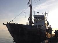 В Запорожской области задержали браконьерское судно с тоннами рыбы